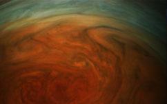 Jupiter : voici la Grande Tache Rouge photographiée de très près par la sonde Juno