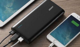Les meilleures batteries externes pour smartphone : notre guide d'achat 2018