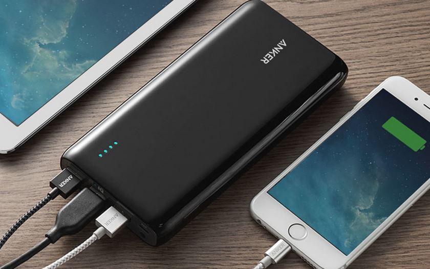 meilleurs batteries externes smartphones autonomie