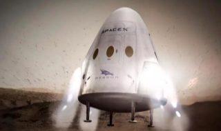Mars : Elon Musk veut désormais construire un immense vaisseau spatial !