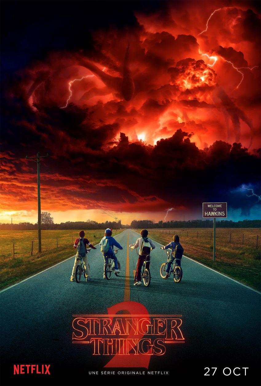 stranger things saison 2 poster