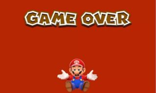 Super mario odyssey game over
