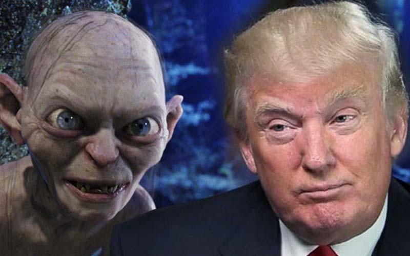 La voix officielle de Gollum lit les tweets de Donald Trump