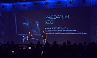 IFA 2017 : Acer Predator X35, un écran 35 pouces UWQHD sans bord à 200Hz