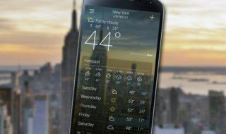 Top 5 des meilleures applications météo pour Android et iOS
