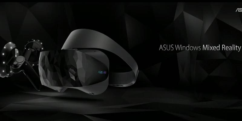 IFA 2017 : ASUS dévoile son casque Windows Mixed Reality