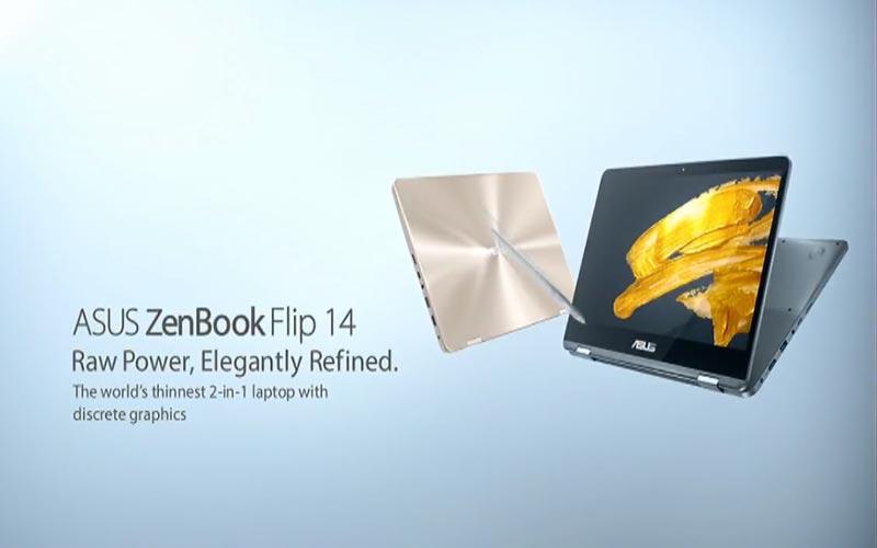Asus ZenBook Flip 14 IFA 2017