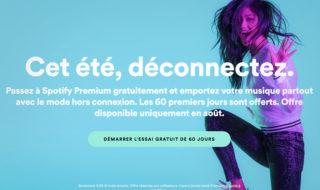 Bon plan : Spotify Premium propose un essai gratuit de 60 jours !