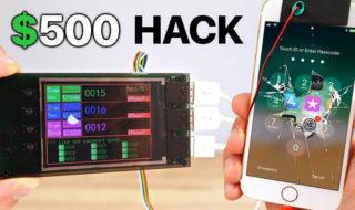 iPhone 7 : un étrange appareil permet de pirater son mot de passe par Brute Force, en vidéo