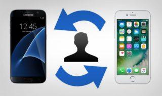 Comment transférer ses contacts Android sur iPhone gratuitement