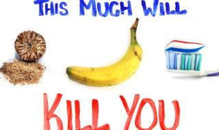 Vidéo : muscade, banane, orange, ces aliments peuvent vous tuer, voicià quelle dose !