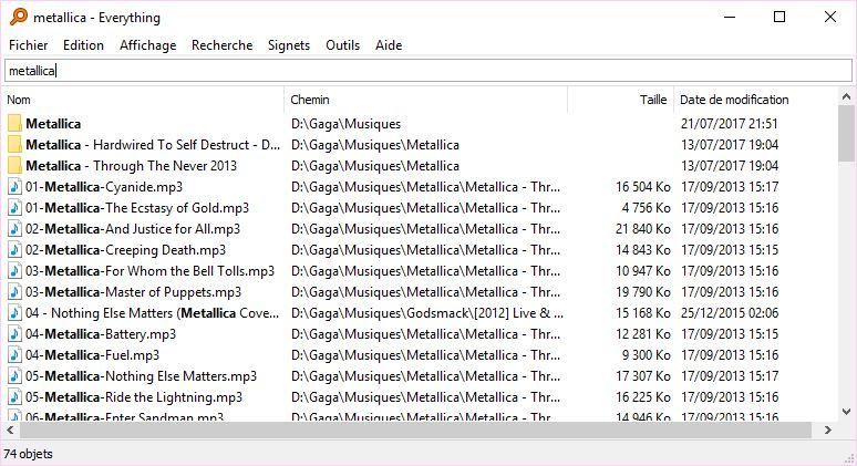everything logiciel recherche windows
