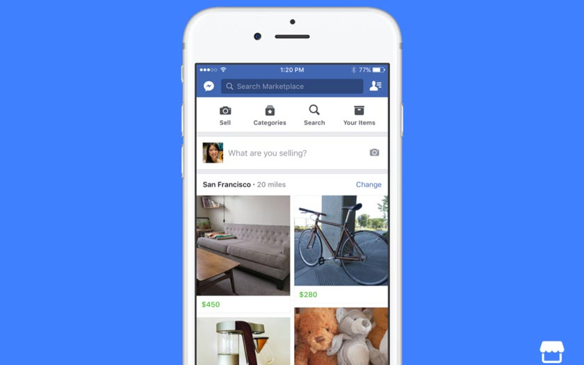 Facebook Marketplace débarque en France pour concurrencer Le Bon Coin