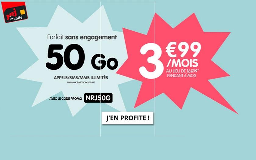 forfait nrj mobile appels sms mms illimit s 50 go. Black Bedroom Furniture Sets. Home Design Ideas