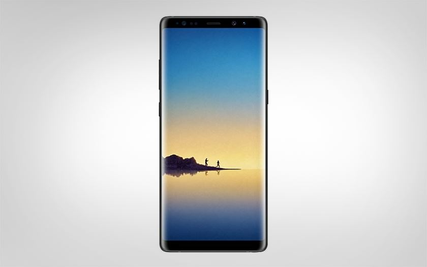 galaxy note 8 officiel