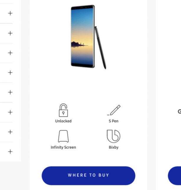 galaxy note 8 photo site samsung