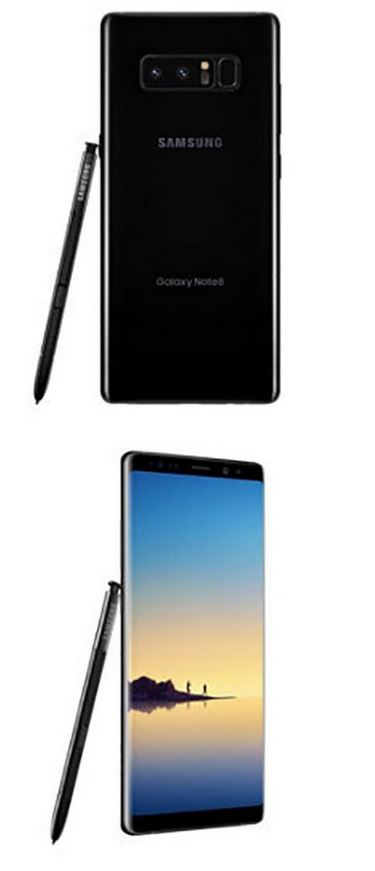 galaxy note 8 photos fuite