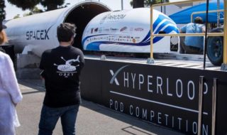 Hyperloop pod record de vitesse