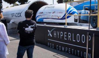 Hyperloop : une capsule d'essai file à plus de 320 km/h, en vidéo
