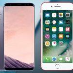 iPhone-7 vs Galaxy S8