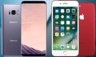 iPhone 7 vs Galaxy S8 : les ventes d'Apple continuent d'écraser celles du dernier flagship Samsung