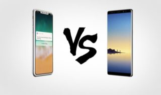 iphone8 vs Galaxy Note 8