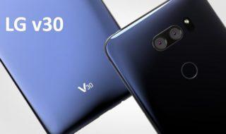 LG V30 officiel : un appareil photo avec une ouverture grande comme ça !
