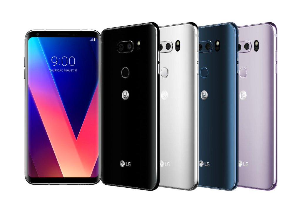 LG V30 et V30+