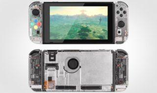 Nintendo Switch mod transparent image