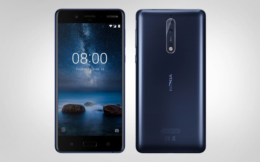 nokia 8 points forts