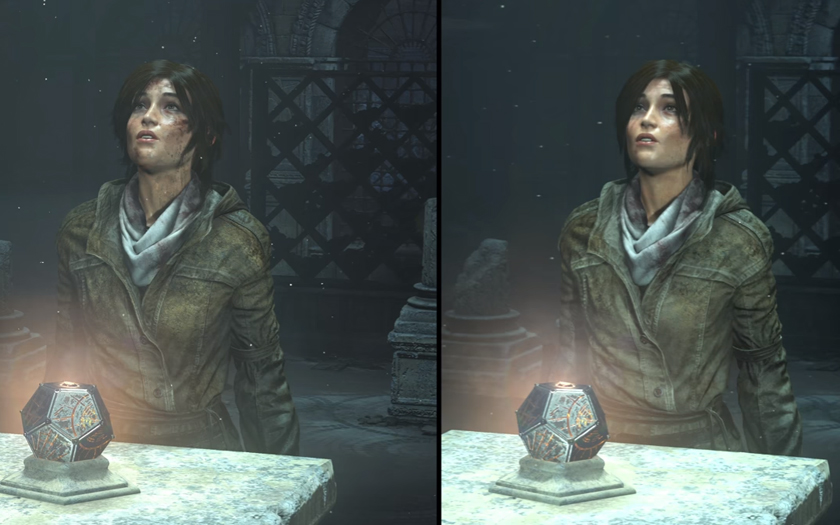 rise of the tomb raider xbox one x ps4 pro comparatif graphique digital foundry