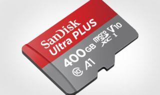 IFA 2017 : SanDisk brise le record en dévoilant une carte MicroSD de 400 Go