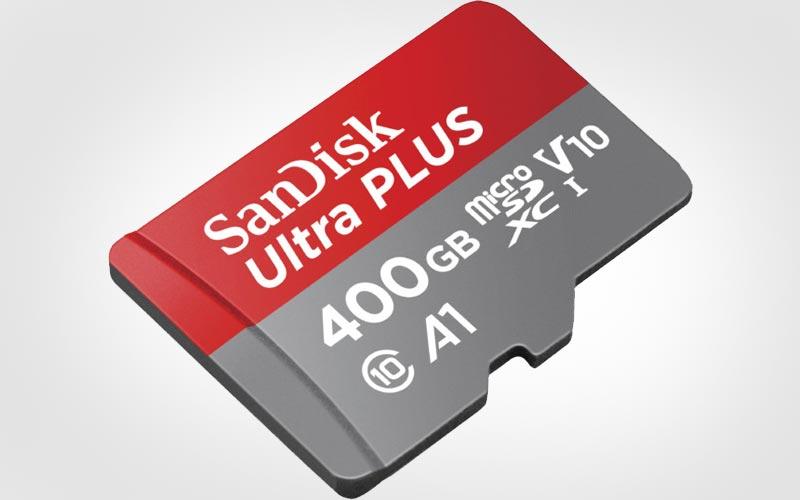 Sandisk microSD 400 Go
