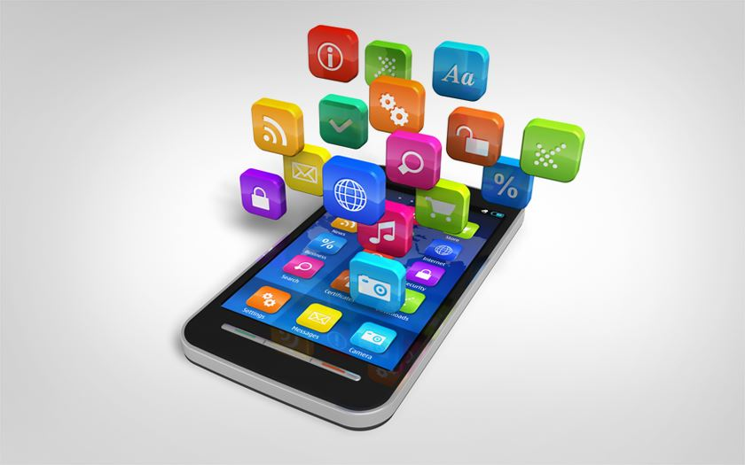 smartphone applications tache de fond