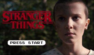 Stranger Things : récapitulatif de la saison 1 façon jeu vidéo rétro