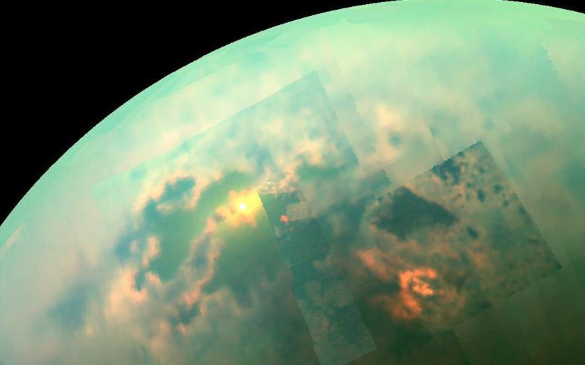 Titan La Lune De Saturne Pourrait Abriter D 233 Tranges