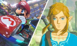 Vidéo : Mario Kart 8 et Zelda Breath of the Wild révèlent leur beauté dans une sublime version 4K