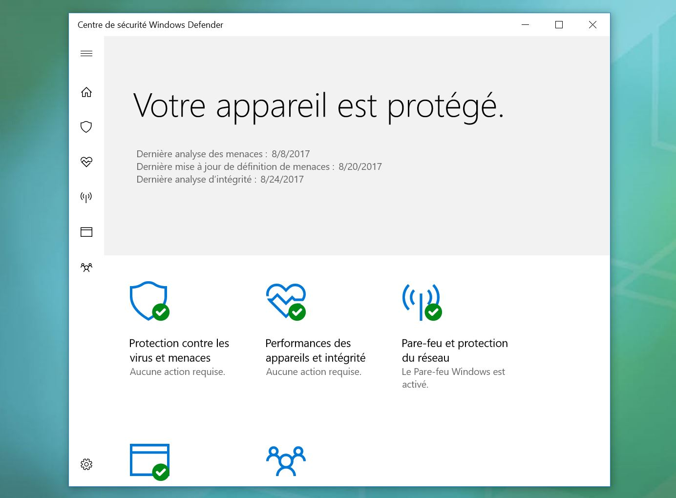 windows defender protege