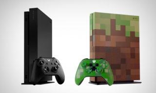 Xbox One X Scorpio et S Minecraft : Microsoft dévoile deux éditions spéciales en précommande