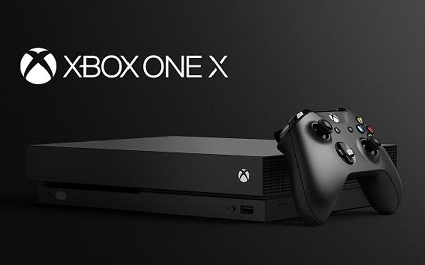 acheter la xbox one x au meilleur prix