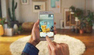 Ikea Place est disponible : essayez des meubles en réalité augmentée !