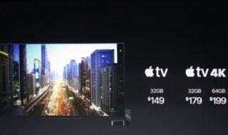 Apple TV 4K officielle : définition exceptionnelle et console de jeux au prix de 179 dollars