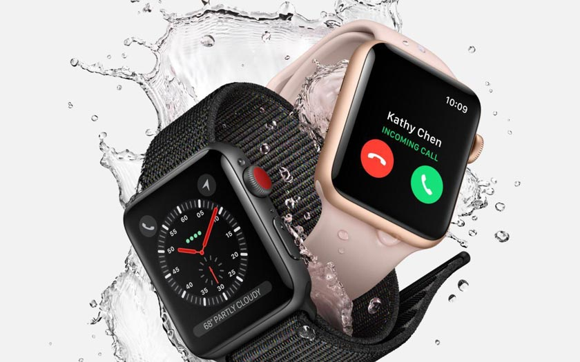 Apple Watch Series 3 orange