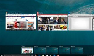 Bureaux virtuels Windows 10