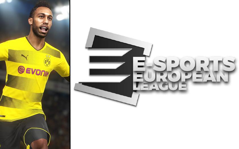 c8 e-sports european league esport capucine anav cyril hanouna pro evolution soccer 2018