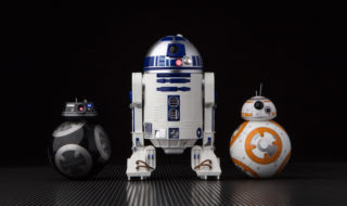 star wars r2-d2 bb-8 bb-9e droïdes sphero