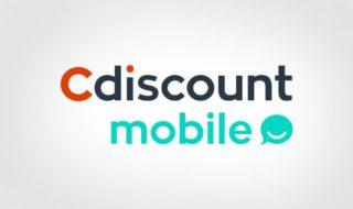 Black Friday : Forfait Cdiscount Mobile de 40 Go en 4G à 1 € / mois sans engagement