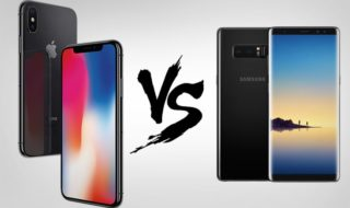 comparatif iphone x 8 samsung galaxy note 8 s8