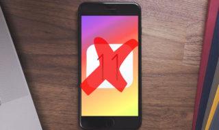 Downgrade : comment enlever iOS 11 et revenir sous iOS 10