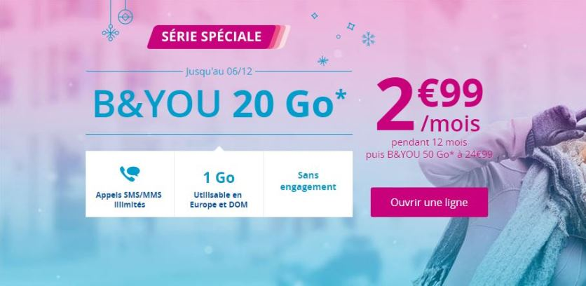 forfait b&and you 20go à 2.99€